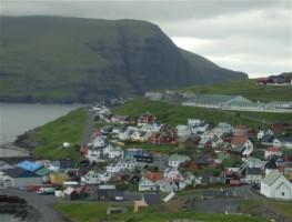 Färöer, Faroes - Eidi