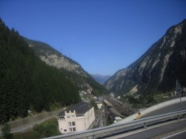 Switzerland - Bus ride from Disentis to Lucerne-007