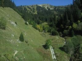 Switzerland - Train ride from Andermatt to Disentis-008