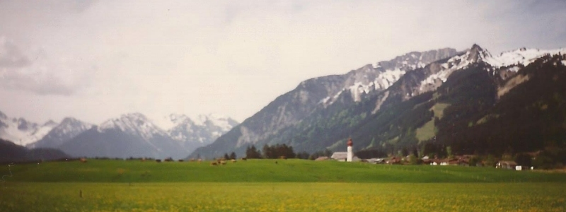 1988 to 1997: First mountain experiences