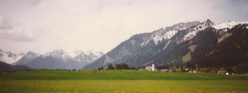 1988 bis 1997: Erstmals Berge erlebt