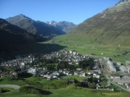 Switzerland - Train ride from Andermatt to Disentis-001