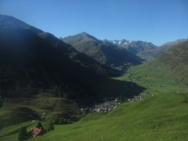 Switzerland - Train ride from Andermatt to Disentis-002
